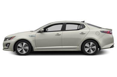 90 Degree Profile 2016 Kia Optima Hybrid