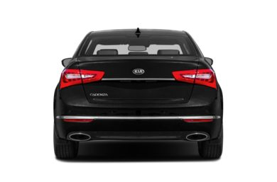 Rear Profile  2014 Kia Cadenza