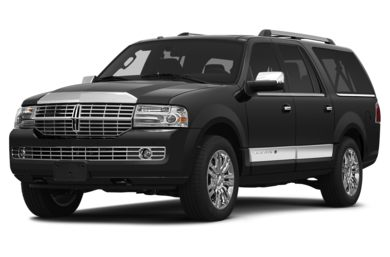 3/4 Front Glamour 2014 Lincoln Navigator L