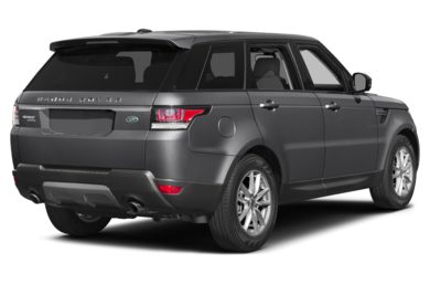 3/4 Rear Glamour  2015 Land Rover Range Rover Sport