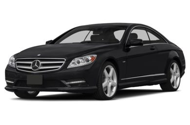 3/4 Front Glamour 2014 Mercedes-Benz CL550