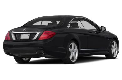 3/4 Rear Glamour  2014 Mercedes-Benz CL550