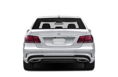 Rear Profile 2016 Mercedes Benz E250 Bluetec