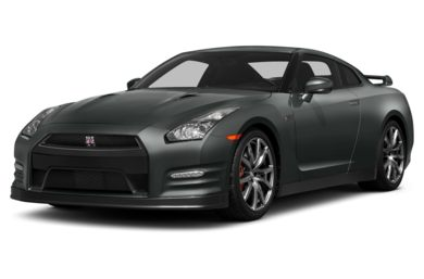 3/4 Front Glamour 2014 Nissan GT-R