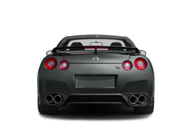 Rear Profile  2014 Nissan GT-R