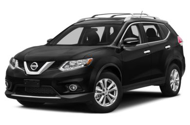 3/4 Front Glamour 2015 Nissan Rogue