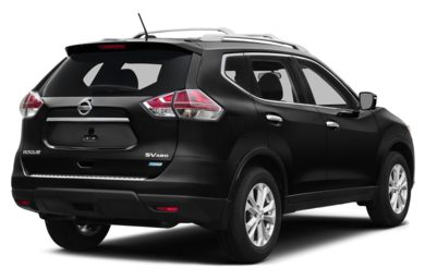 3/4 Rear Glamour  2015 Nissan Rogue