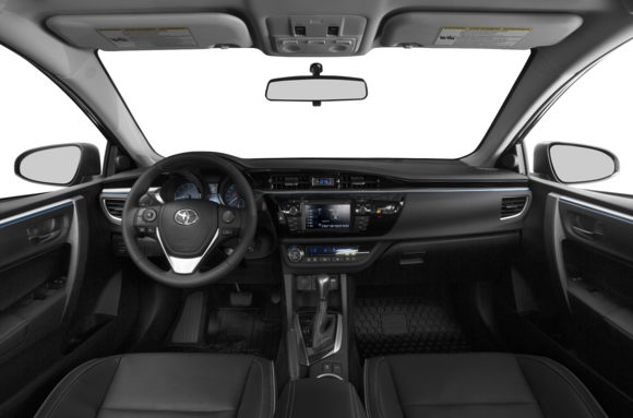 2015 toyota corolla styles features highlights - 2014 toyota corolla interior features ...