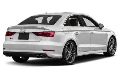 3 4 Rear Glamour 2016 Audi S3