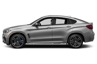 90 Degree Profile 2016 BMW X6 M