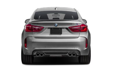 Rear Profile  2016 BMW X6 M