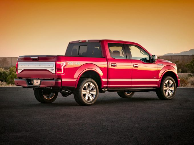 Ford F-150 Rear Quarter