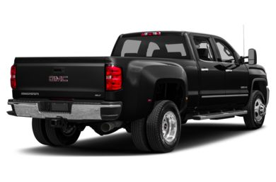 3/4 Rear Glamour  2018 GMC Sierra 3500HD