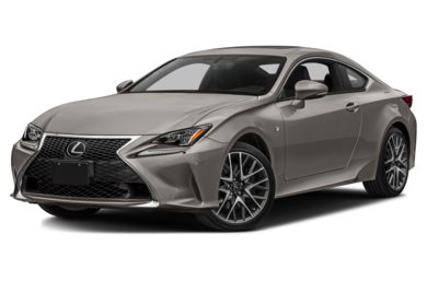 3/4 Front Glamour 2018 Lexus RC