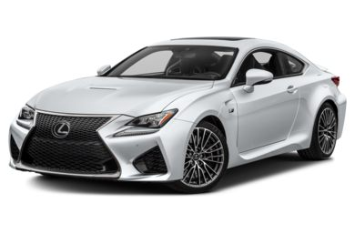 3/4 Front Glamour 2017 Lexus RC F