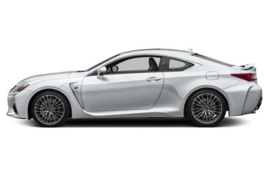 90 Degree Profile 2016 Lexus RC F