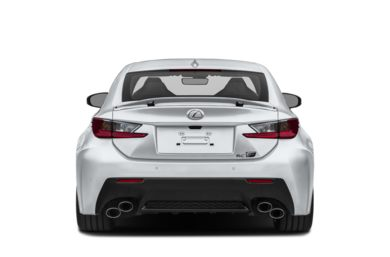 Rear Profile  2016 Lexus RC F