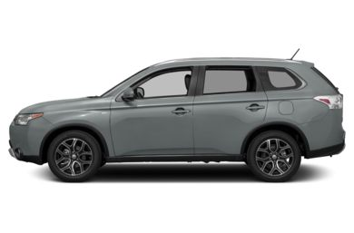 90 Degree Profile 2015 Mitsubishi Outlander