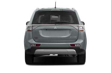 Rear Profile  2015 Mitsubishi Outlander