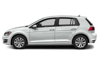 90 Degree Profile 2017 Volkswagen Golf
