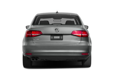 Rear Profile 2016 Volkswagen Jetta