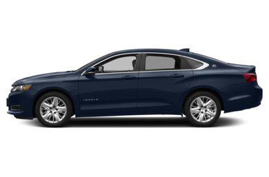 90 Degree Profile 2016 Chevrolet Impala