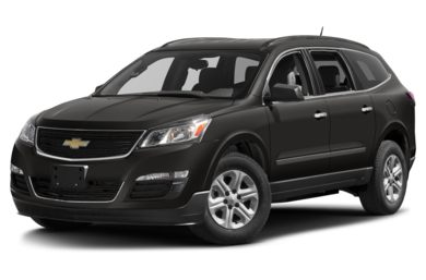 3 4 Front Glamour 2017 Chevrolet Traverse