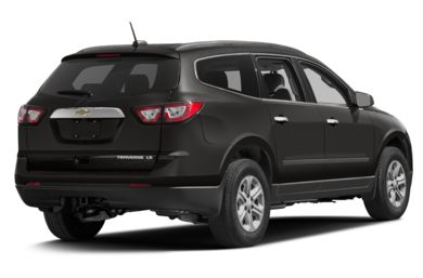 3/4 Rear Glamour  2017 Chevrolet Traverse