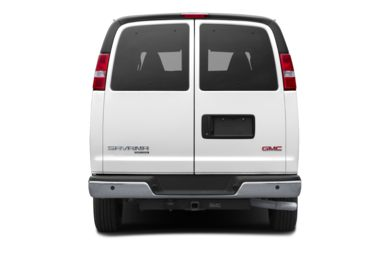 Rear Profile  2019 GMC Savana 3500