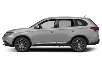 90 Degree Profile 2016 Mitsubishi Outlander