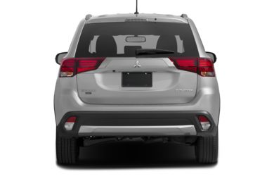 Rear Profile  2016 Mitsubishi Outlander
