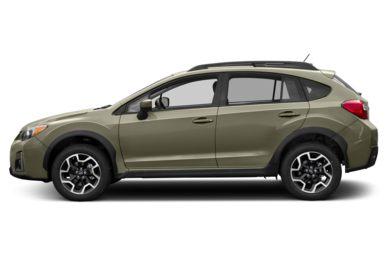 90 Degree Profile 2016 Subaru Crosstrek