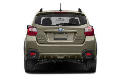 Rear Profile 2016 Subaru Crosstrek