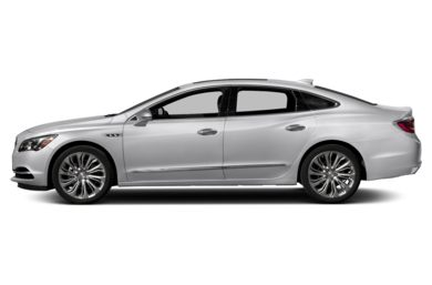 90 Degree Profile 2017 Buick LaCrosse