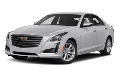 3/4 Front Glamour 2019 Cadillac CTS