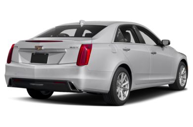 3/4 Rear Glamour  2018 Cadillac CTS