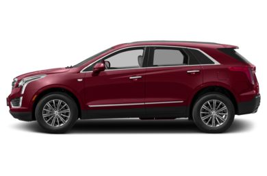 90 Degree Profile 2019 Cadillac XT5