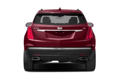 Rear Profile 2017 Cadillac Xt5