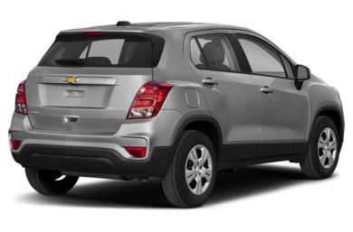 3/4 Rear Glamour  2019 Chevrolet Trax