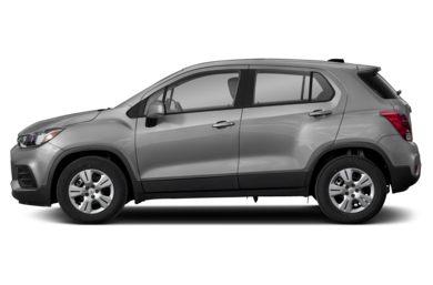 90 Degree Profile 2017 Chevrolet Trax