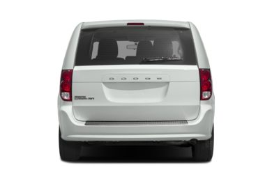 Rear Profile  2019 Dodge Grand Caravan