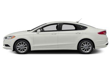 90 Degree Profile 2017 Ford Fusion