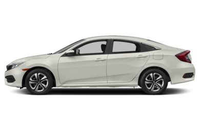 90 Degree Profile 2017 Honda Civic