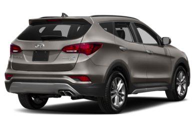 3 4 Rear Glamour 2018 Hyundai Santa Fe Sport