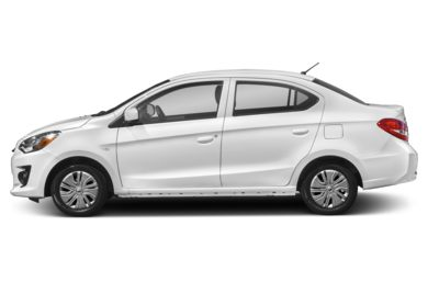 90 Degree Profile 2018 Mitsubishi Mirage G4