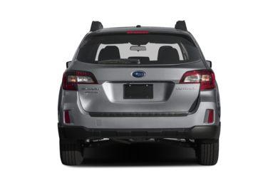 Rear Profile 2017 Subaru Outback