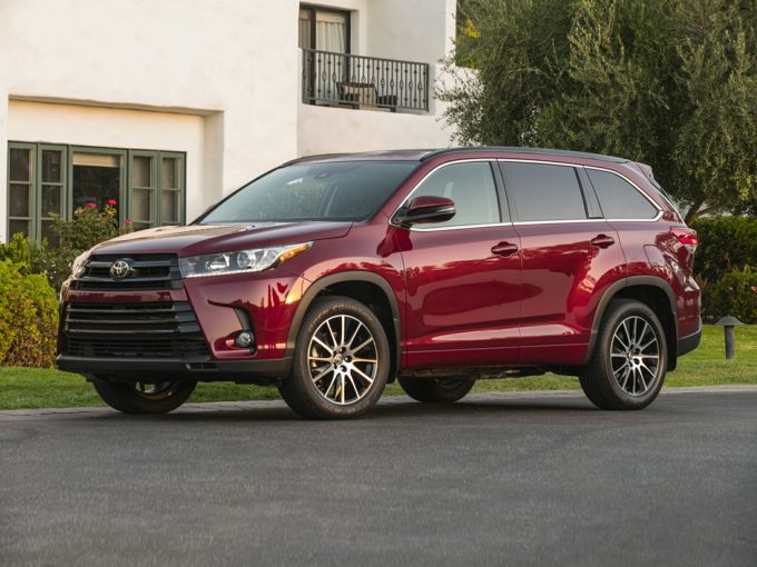 Toyota Highlander Lease >> 2019 Toyota Highlander Deals Prices Incentives Leases Overview