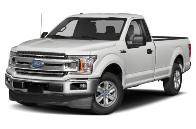 3/4 Front Glamour 2018 Ford F-150
