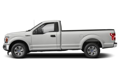 90 Degree Profile 2018 Ford F-150
