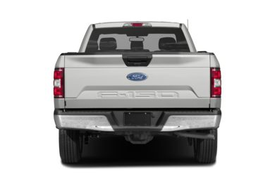 Rear Profile  2018 Ford F-150